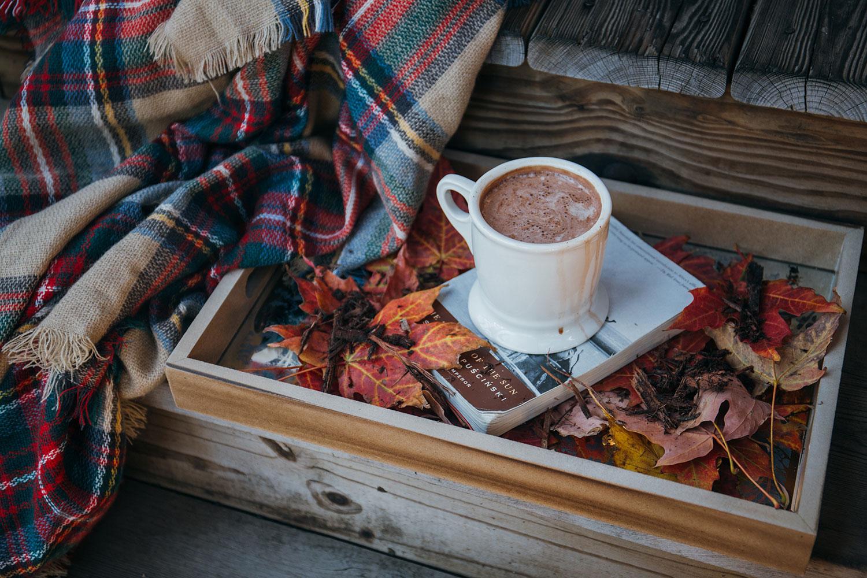 правильно сделать картинки осенний день одеяло кофе именно