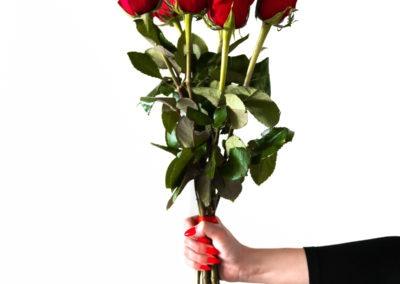 день Святого Валентина красивые фото букет роз