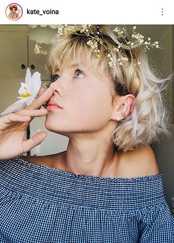 идеи для фото летом селфи цветы
