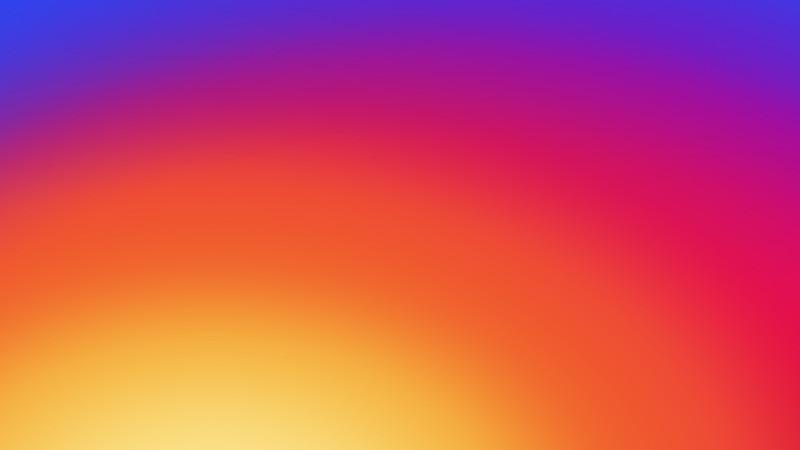 как сделать разноцветный круг на аватарку инстаграм