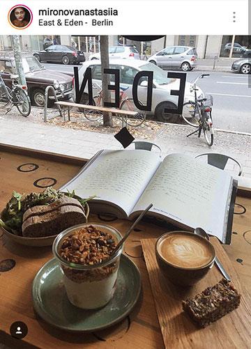 идеи фото осенью для инстаграм - читать книгу в кафе