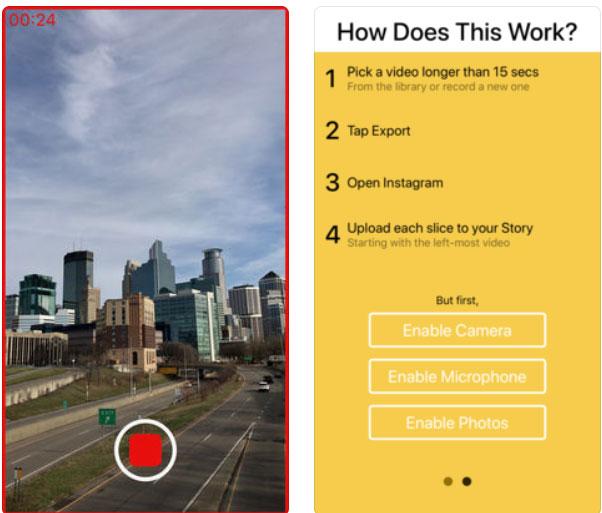 приложение для Инстаграм Историй Stereo